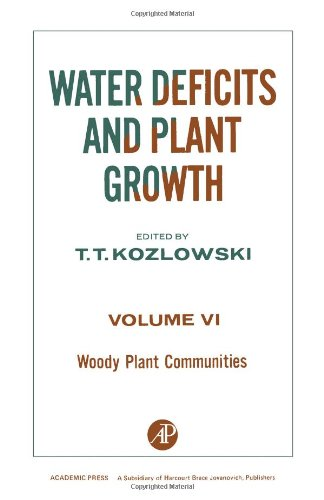 9780124241565: Water Deficits and Plant Growth: Woody Plant Communities