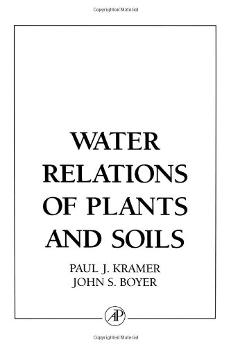 9780124250604: Water Relations of Plants and Soils