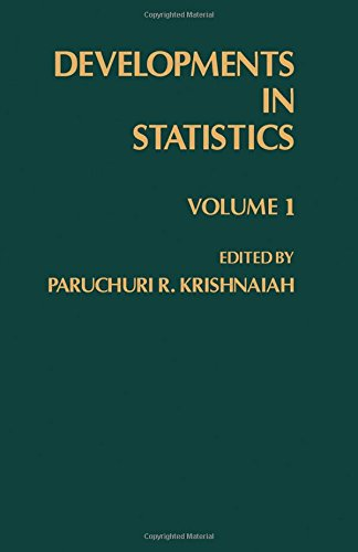 9780124266018: Developments in Statistics, Volume 1 (v. 1)
