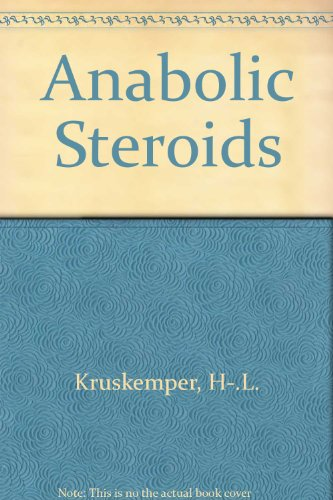 9780124269507: Anabolic Steroids