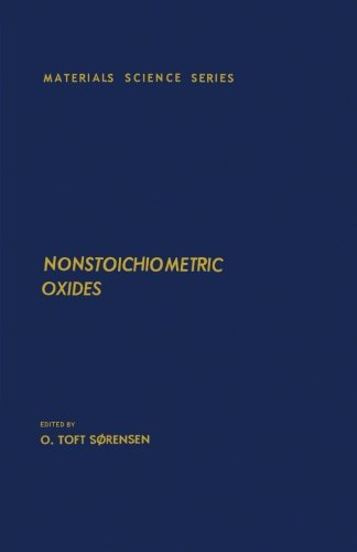 9780124311824: Nonstoichiometric Oxides