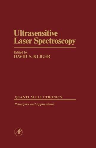 9780124311909: Ultrasensitive Laser Spectroscopy