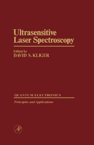 9780124311909: Ultrasensitive Laser Spectroscopy