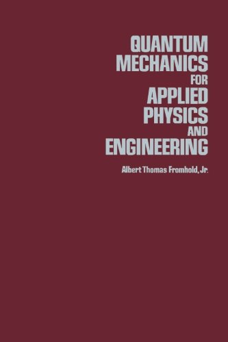 9780124312111: Quantum Mechanics for Applied Physics and Engineering