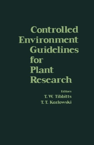 9780124312593: Controlled Environment Guidelines for Plant Research