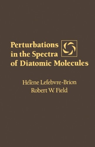 9780124312760: Perturbations in the Spectra of Diatomic Molecules