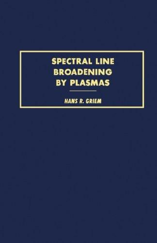 9780124312944: Spectral Line Broadening by Plasmas