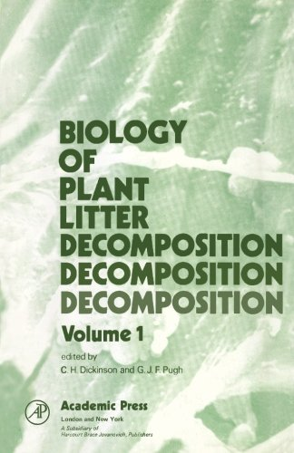 9780124313057: Biology of Plant Litter Decomposition, Volume 1