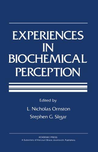 9780124314023: Experiences in Biochemical Perception