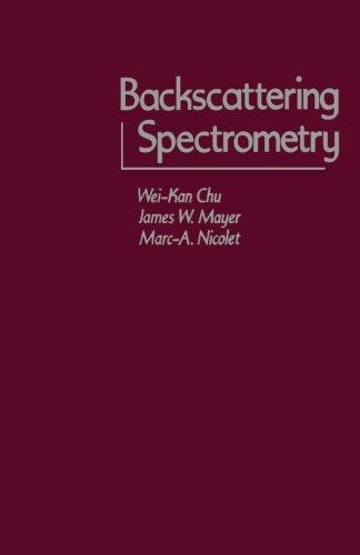 9780124314047: Backscattering Spectrometry