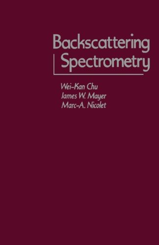 9780124314047: Backscattering Spectrometry
