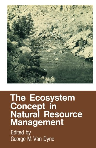 9780124314238: The Ecosystem Concept in Natural Resource Management