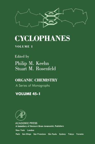 9780124314542: Cyclophanes, Volume I
