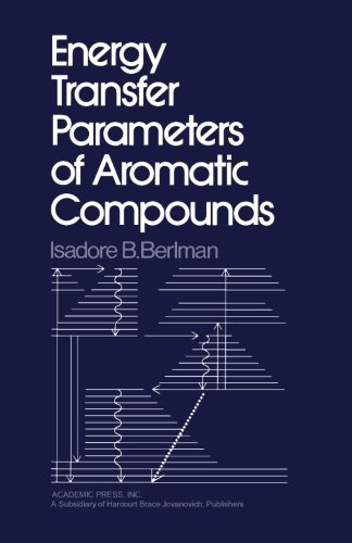 9780124314559: Energy Transfer Parameters of Aromatic Compounds