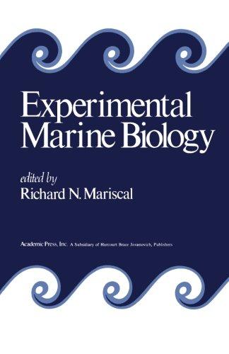 9780124314771: Experimental Marine Biology
