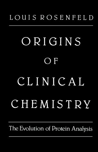 9780124314900: Origins of Clinical Chemistry: The Evolution of Protein Analysis