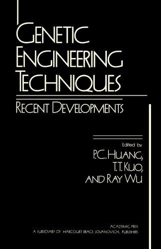 Genetic Engineering Techniques: Recent Developments