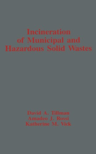 9780124316508: Incineration of Municipal and Hazardous Solid Wastes