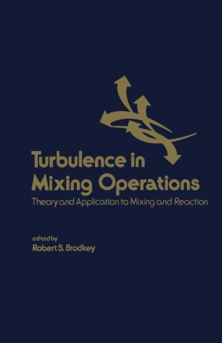 9780124316645: Turbulence in Mixing Operations: Theory and Application to Mixing and Reaction