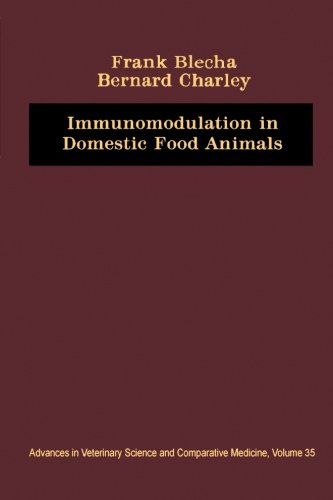 9780124316843: Immunomodulation in Domestic Food Animals: Advances in Veterinary Science and Comparative Medicine, Volume 35