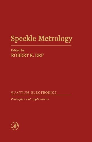 9780124316911: Speckle Metrology