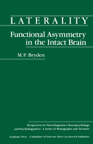 9780124317345: Laterality Functional Asymmetry in the Intact Brain