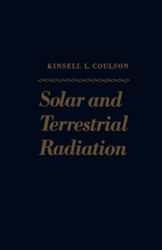 9780124317437: Solar and Terrestrial Radiation: Methods and Measurements