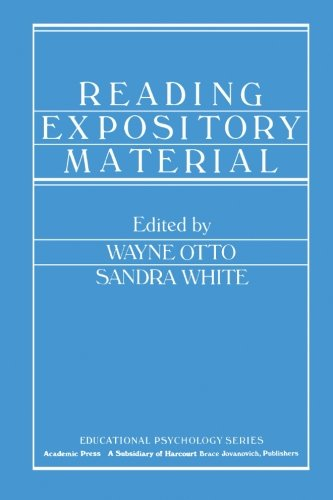 9780124333086: Reading Expository Material
