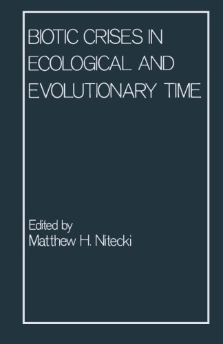 9780124333307: Biotic Crises in Ecological and Evolutionary Time