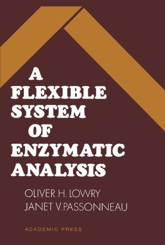 9780124333598: A Flexible System of Enzymatic Analysis