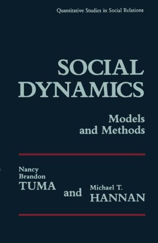 9780124333789: Social Dynamics Models and Methods