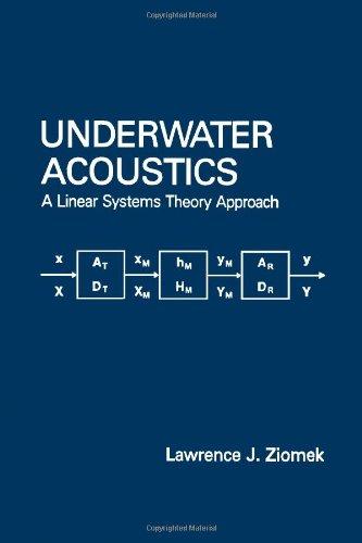 9780124333802: Underwater Acoustics