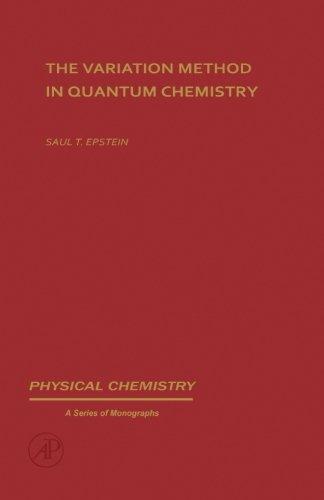 9780124334359: The Variation Method in Quantum Chemistry