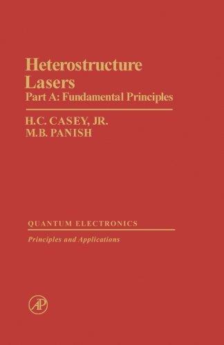 9780124334571: Heterostructure Lasers: Part A