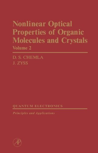 9780124334649: Nonlinear Optical Properties of Organic Molecules and Crystals V2