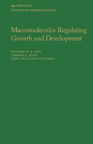 9780124335660: Macromolecules Regulating Growth and Development