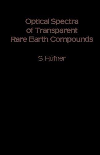 9780124335844: Optical Spectra of Transparent Rare Earth Compounds
