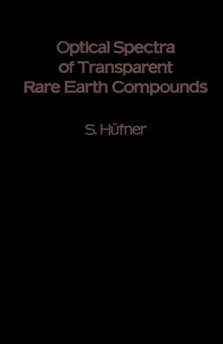 9780124335844: Optical Spectra of Transparent Rare Earth Compounds