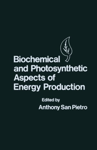 9780124336087: Biochemical and Photosynthetic Aspects of Energy Production