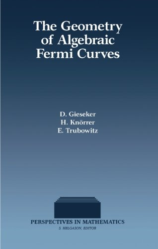 9780124336124: The Geometry of Algebraic Fermi Curves