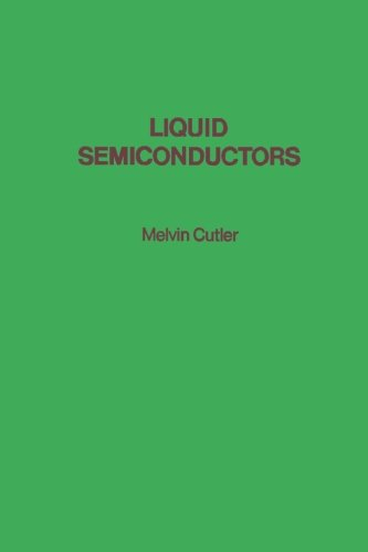 9780124336292: Liquid Semiconductors