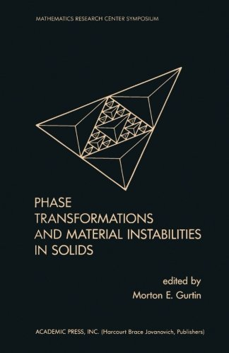 9780124336568: Phase Transformations and Material Instabilities in Solids
