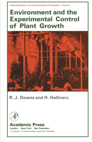 9780124337657: Environment and the Experimental Control of Plant Growth