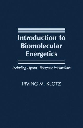 9780124337701: Introduction to Biomolecular Energetics: Including Ligand¿Receptor Interactions