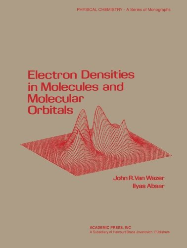 9780124337817: Electron densities in molecular and molecular orbitals