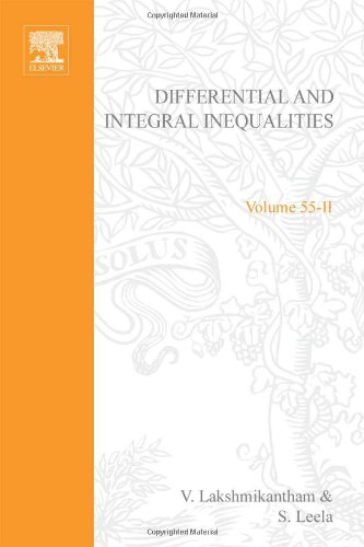 Differential and Integral Inequalities: Functional Partial, Abstract
