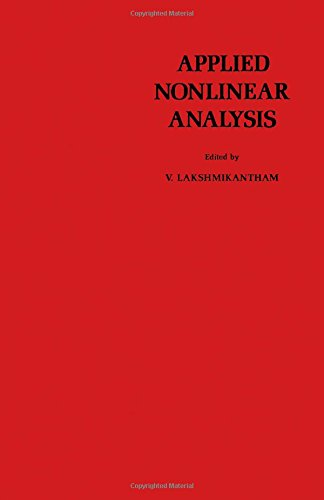 9780124341807: Applied Nonlinear Analysis