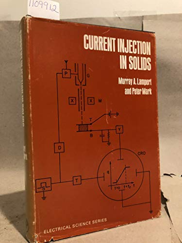 9780124353503: Current Injection in Solids (Electrical Science)