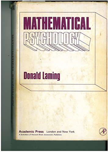 9780124354609: Mathematical Psychology