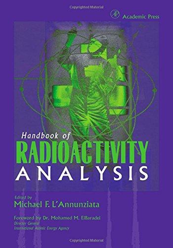 9780124362550: Handbook of Radioactivity Analysis